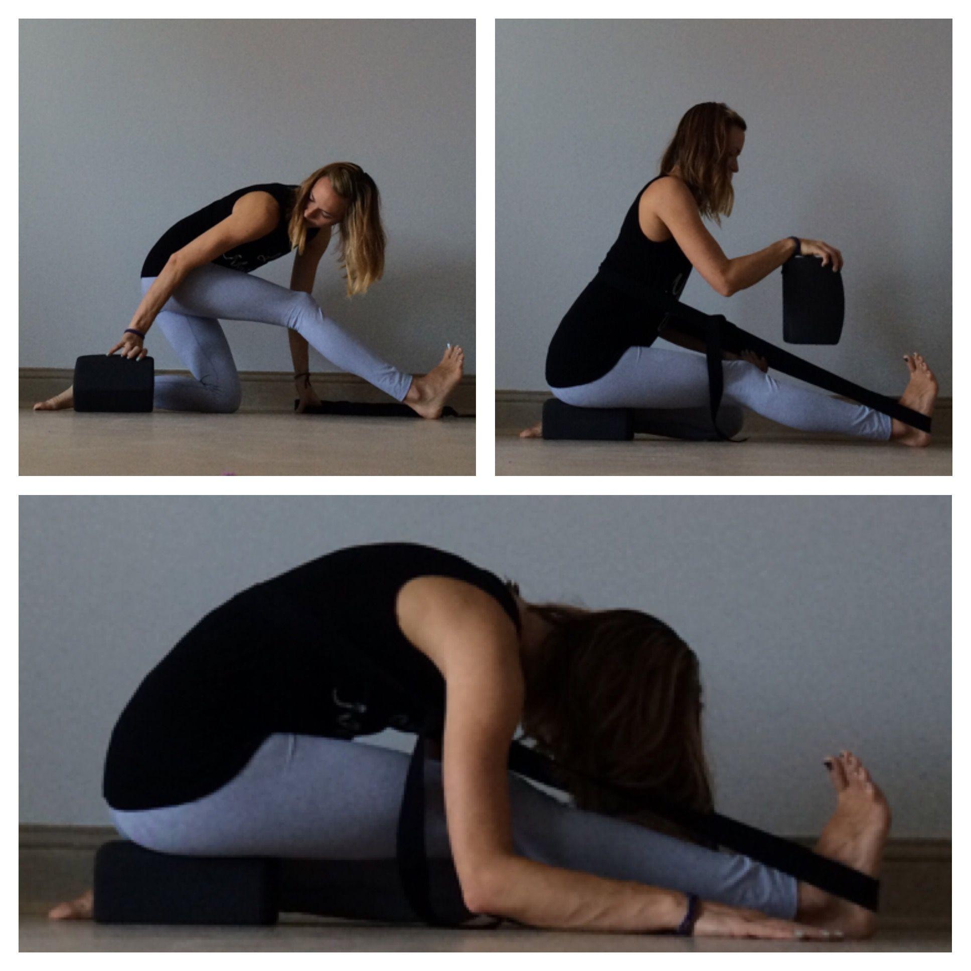Yin Yoga Strap Sequence Yin Yoga Yin Yoga Sequence Restorative Yin Yoga