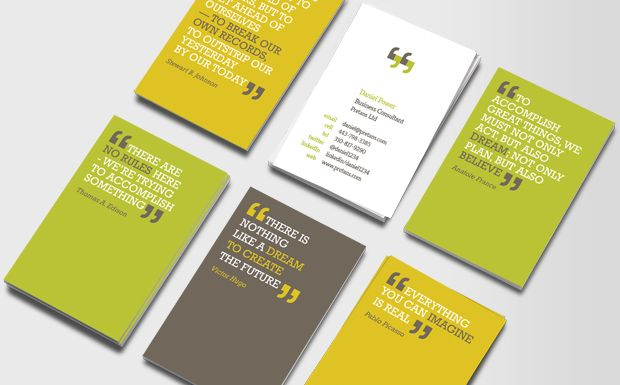 Quotes On Business Cards Business Information Business