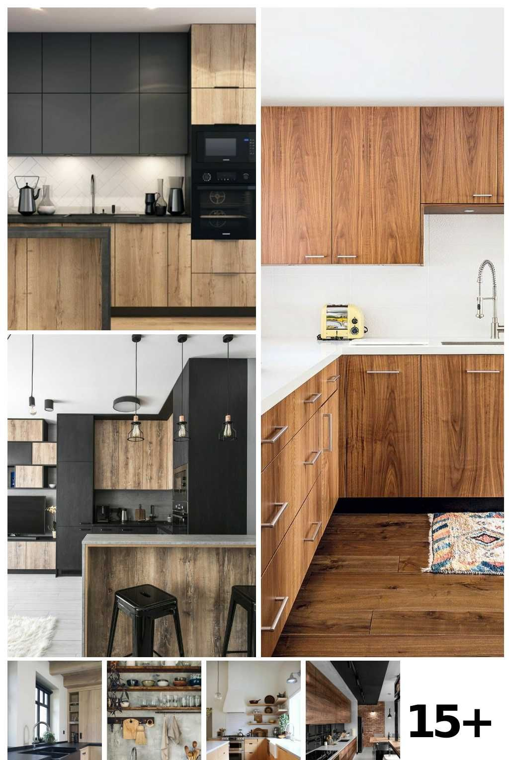 Trending Blonde Wood And Mixed Woods In 2020 Modern Kitchen Design Building A Kitchen Kitchen Design