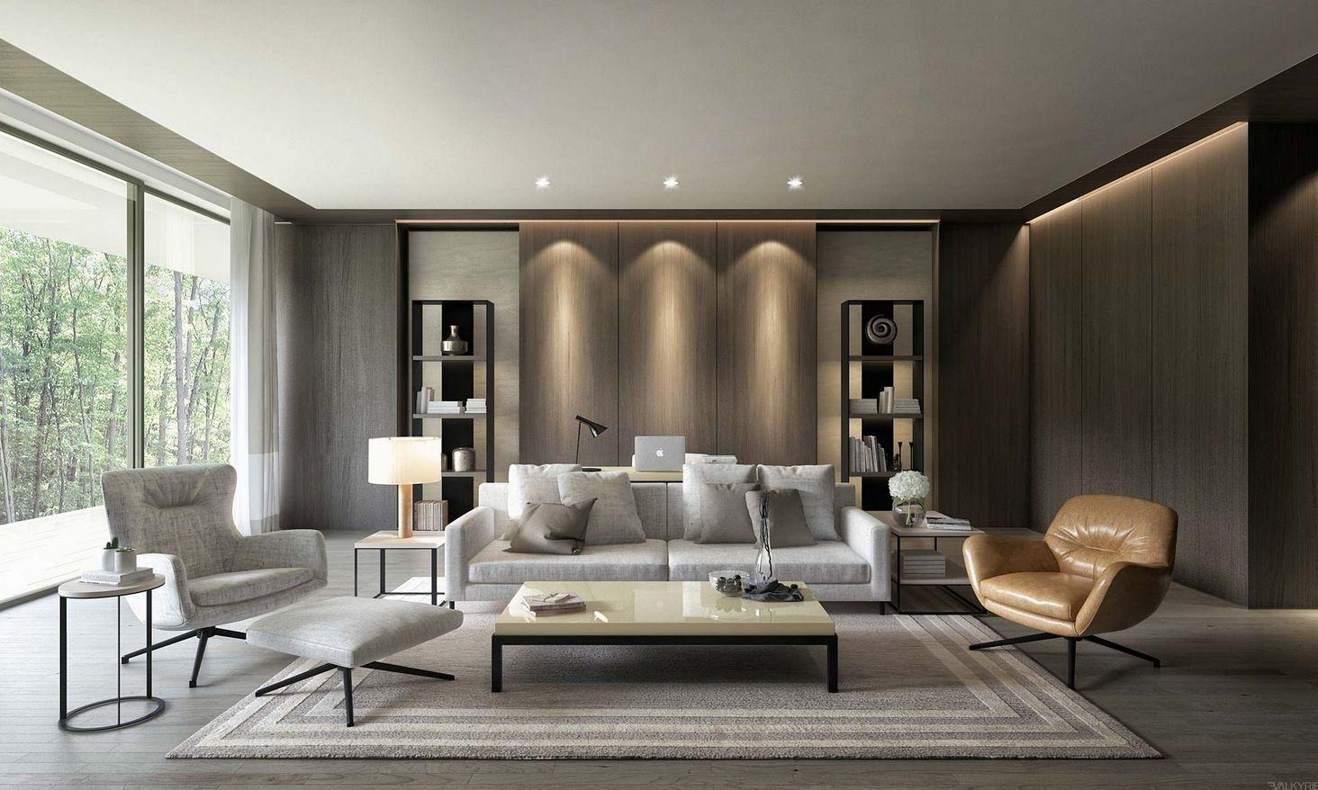 26 primjera dizajna interijera modernih dnevnih boravaka | Uređenje doma