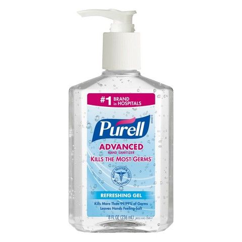 Purell Purell Advanced Hand Sanitizer Gel 1000 Ml Refill For
