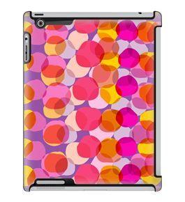 Uncommon LLC Deflector Hard Case for iPad 2/3/4, Translucent Dots Lavender (C0060-MF)