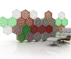 Room Divider for Bijenkorf Headquarters