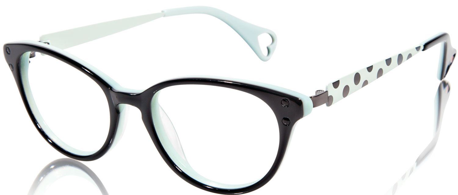 Betsey Johnson Ombre Minnie BJ 0148 Eyeglasses | Free Shipping ...