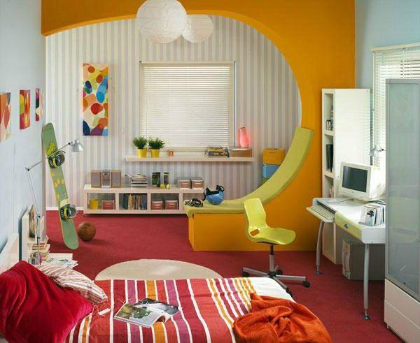 30 ideen f r kinderzimmergestaltung kinderzimmer gestalten ideen deko schreibtisch. Black Bedroom Furniture Sets. Home Design Ideas