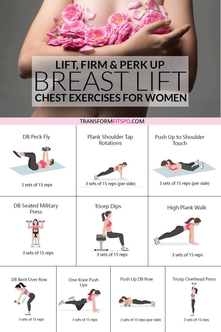 Chest Exercises for Women to Lift and Perk Up Breasts [VERY Effective!]