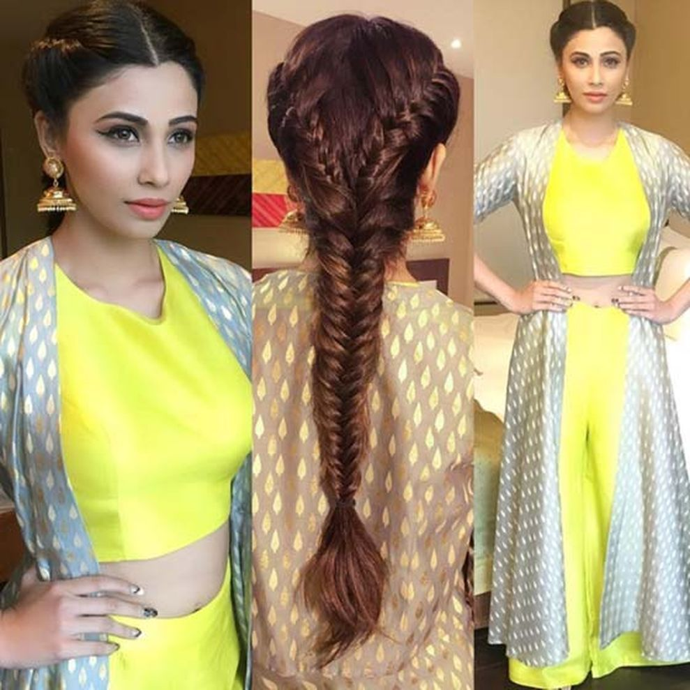 Indian Braids Hairstyle: 48 Stylish Wedding Hairstyle Ideas For Indian Bride
