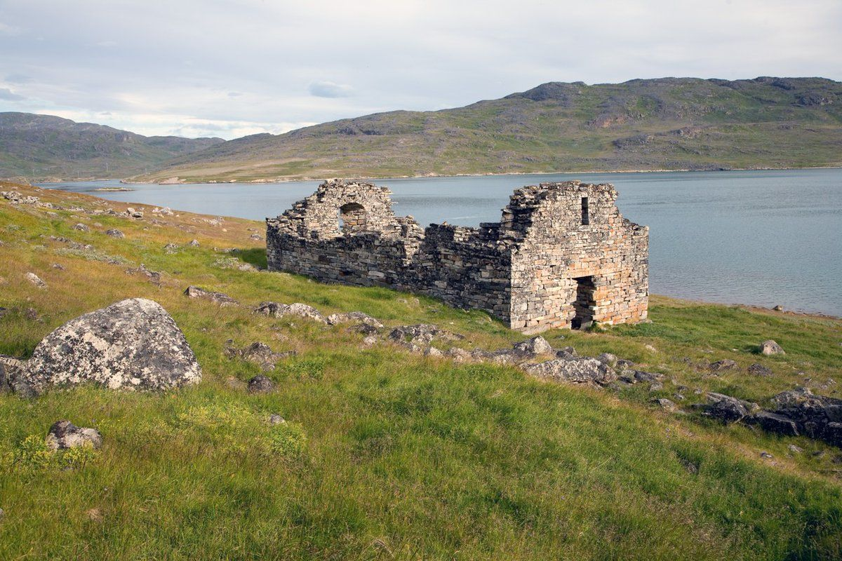 Vikings lived in Greenland for almost 500 years from 980 to around 1450 - only 40 years before Columbus.