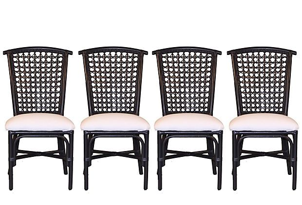 Love! Too bad I can\u0027t find them for sale anywhere Black Rattan