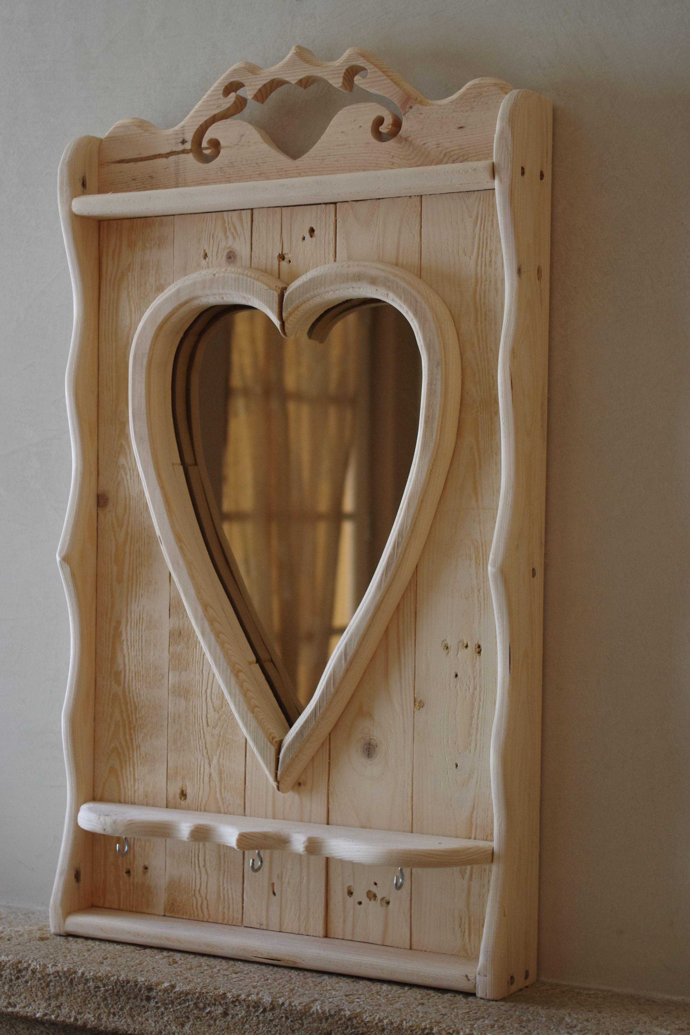 miroir porte cl s en palette d coration int rieure pinterest bois decoration et. Black Bedroom Furniture Sets. Home Design Ideas