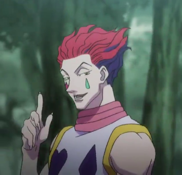 Hisoka Explains Things Hisoka Hottest Anime Characters Anime Icons