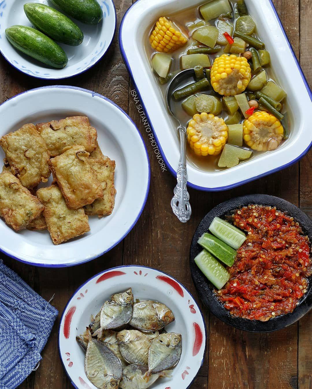 Pin Di Indonesian S Table Food