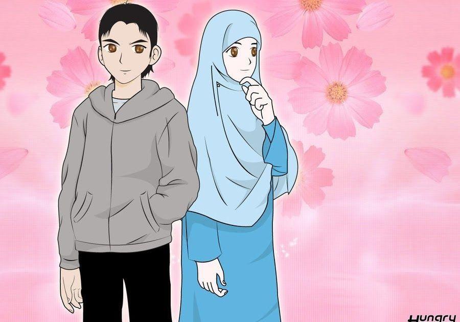 Gambar Romantis Islami Sebetulnya Luas Ya Maknanya Gambar Kartun Islami Galau Foto Gambar Kartun Terupdate Bisa Dijumpai Gambar Animasi Kartun Kartun Animasi