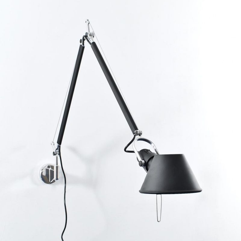 Tolomeo Parete Wall Lamp Black Lamps Bedroom Lamps Desk Lamp