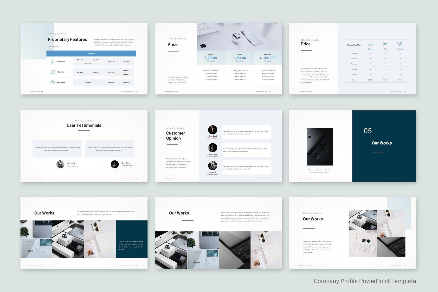 Company Profile Template Company Profile Template Company Presentation Company Profile