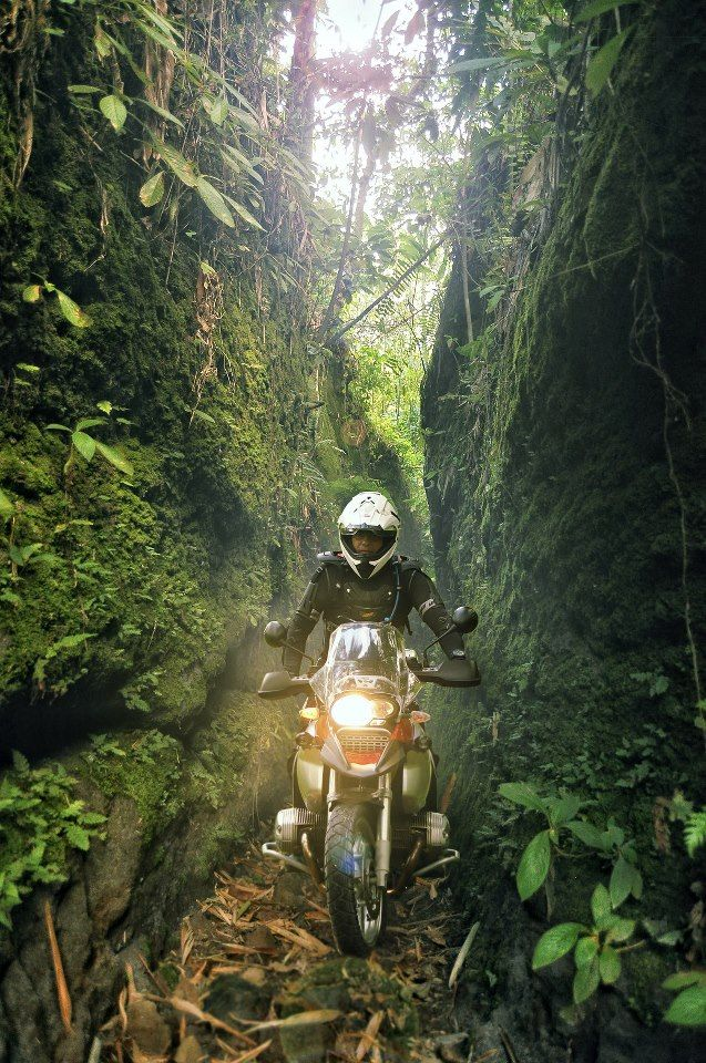 I Cant Imagine Driving Up A Rut Like That Only To Have Try Touring MotorcyclesMotorcycle
