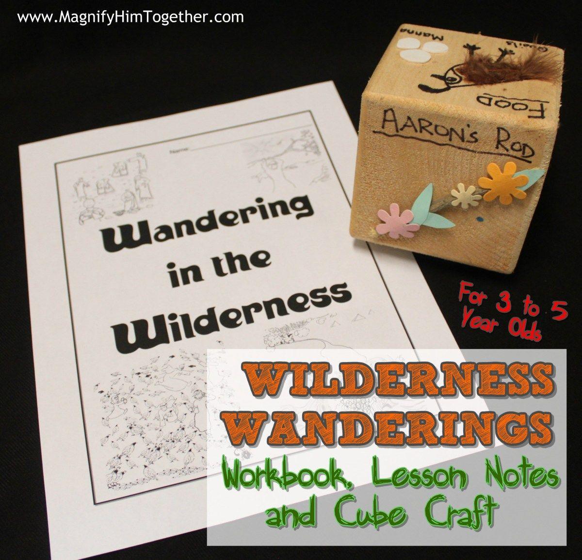 Wilderness Wanderings Kids Children Lesson Workbook