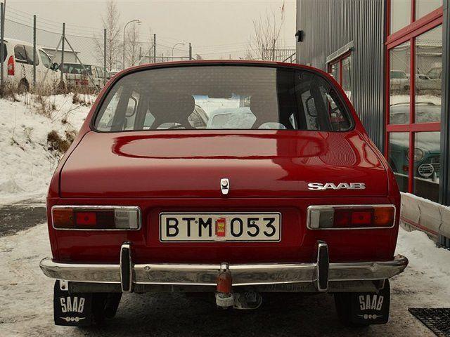Saab 99 Bilar Sverige