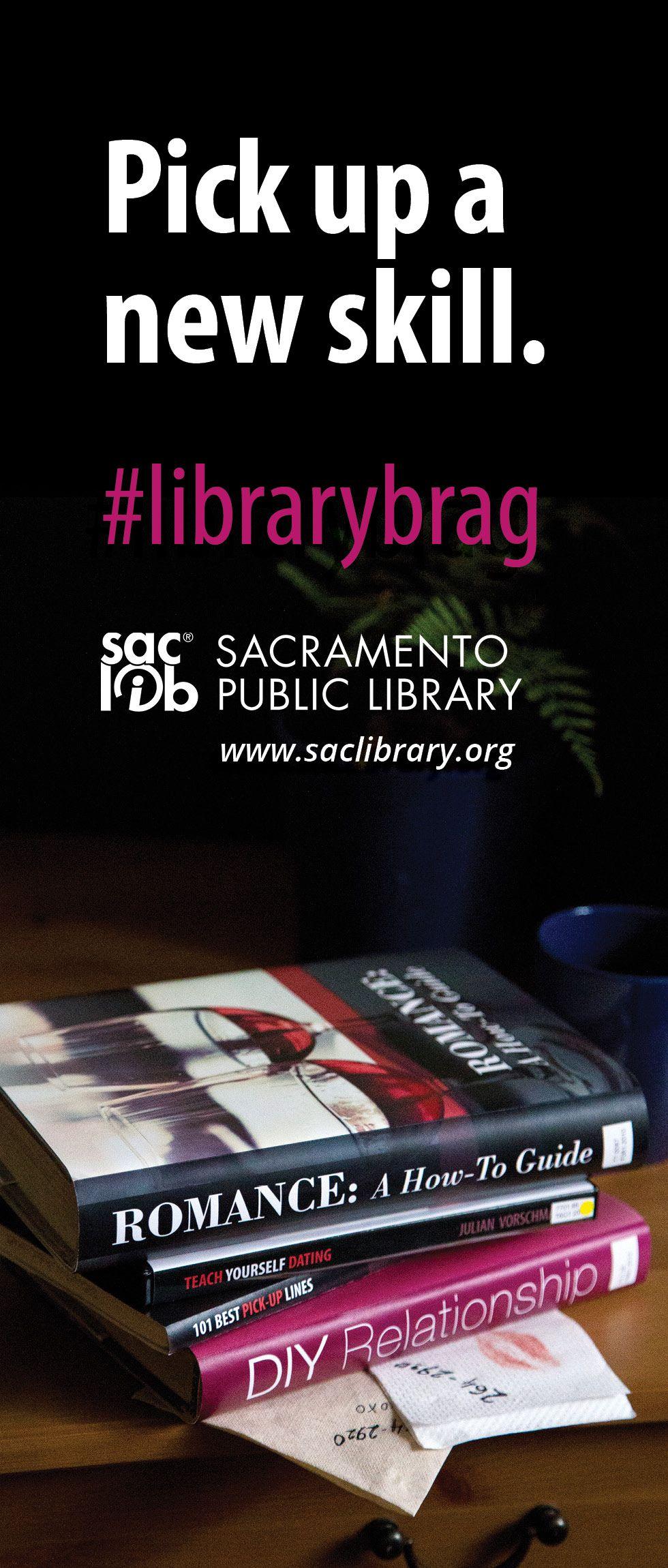 Pick up a new skill. #librarybrag