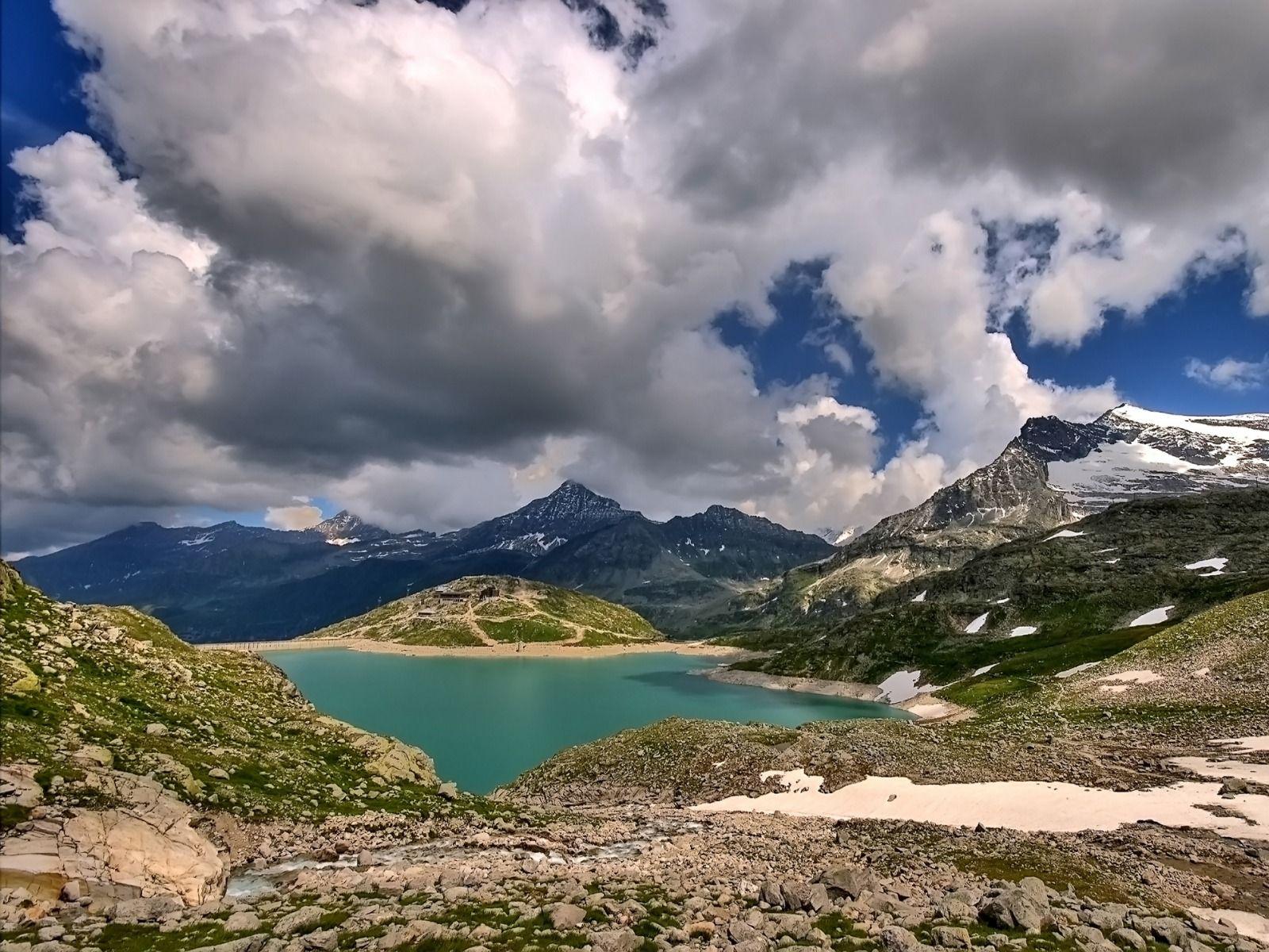 Lac Et Montagne Fond Ecran Lac Paysage