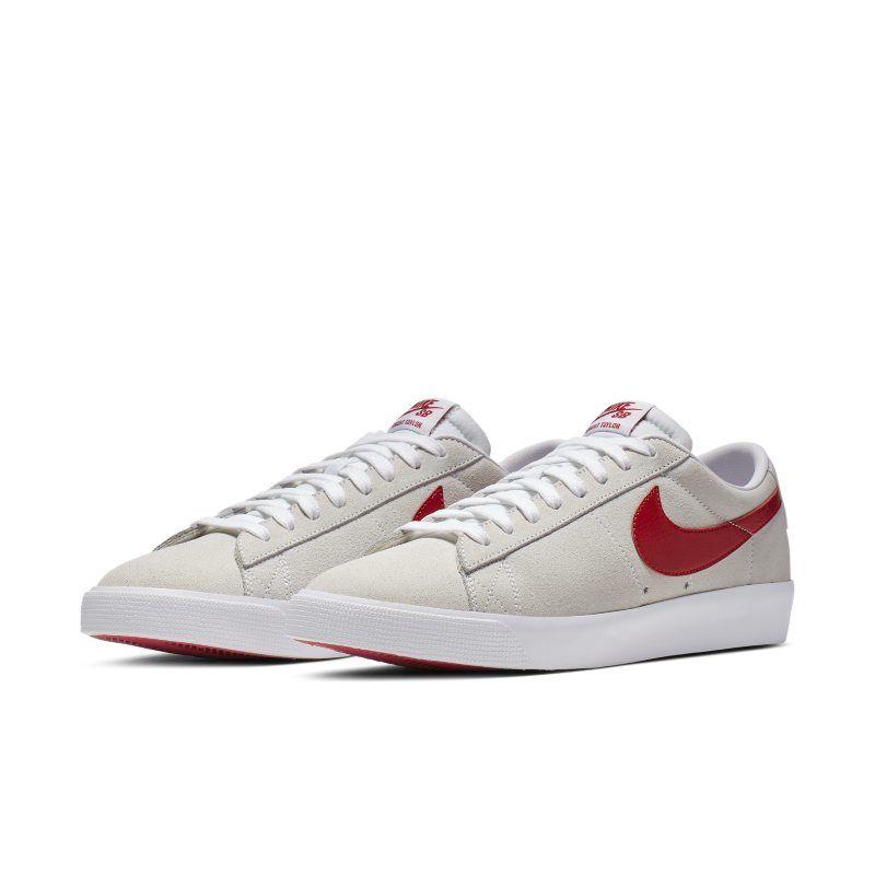 21f1ec7b293c1 Nike SB Blazer Low GT Skate Shoe - White in 2019