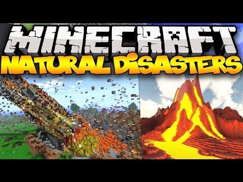Minecraft: WEATHER! (TORNADOES, TSUNAMIS, FLYING BLOCKS & MORE