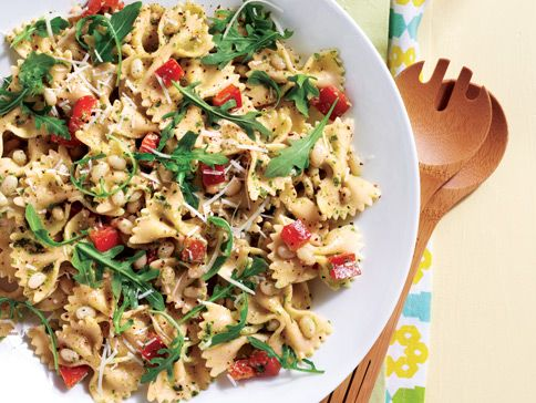 Sobeys Bow Tie Pasta Salad With Arugula Pesto. This was easy and