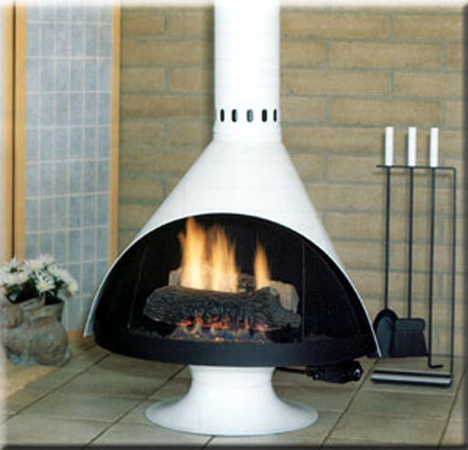 Retro Malm Fireplaces Gas Fireplace Scandinavian