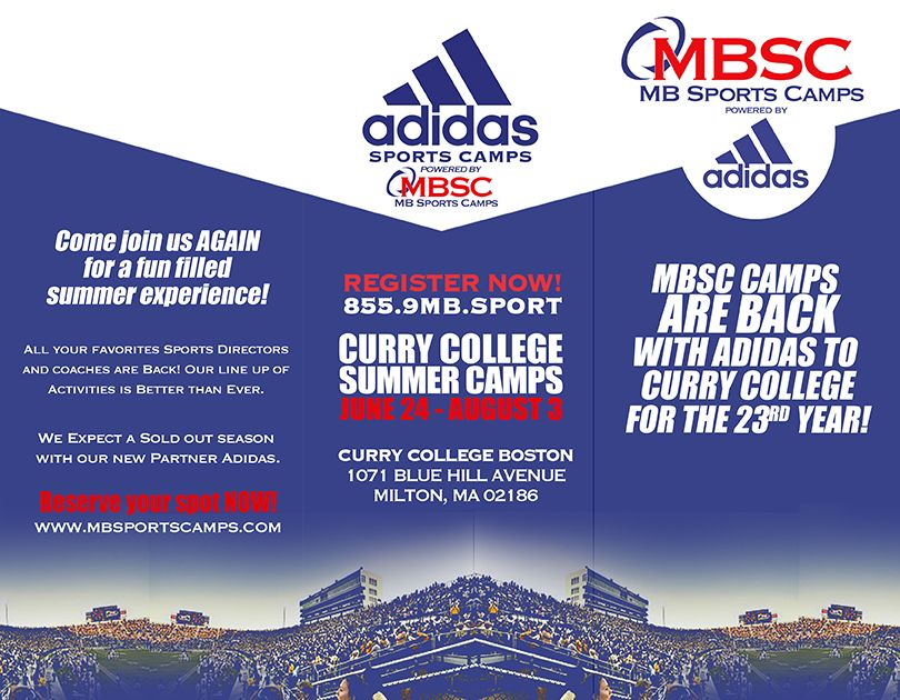 Adidas Sports Camps Brochure Design | Brochure Design