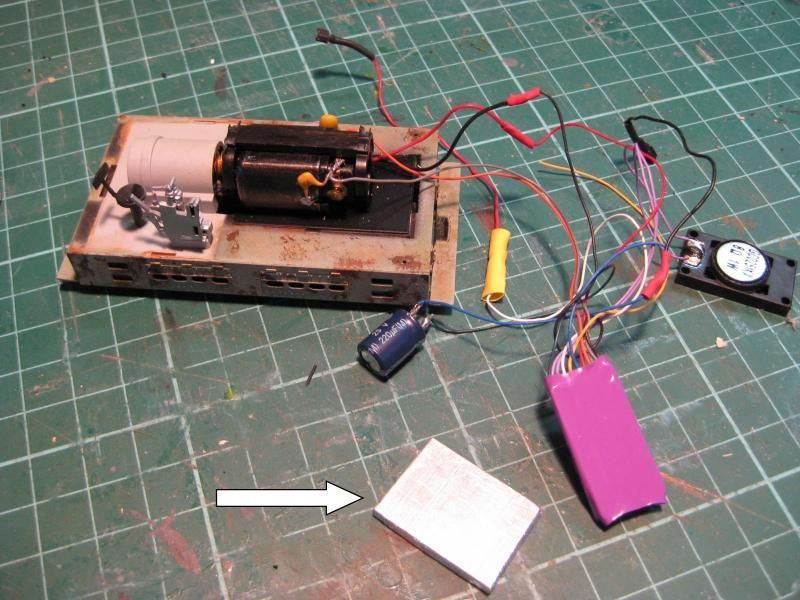 Sound Decoder for On30 Bachmann 0-4-0 Siderod Critter ...
