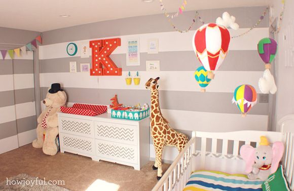 Chambre enfant cirque Nursery, Babies and Room