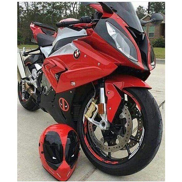 Deadpool Motorcycle Helmets Super Bikes Sport Bikes Cool Bikes