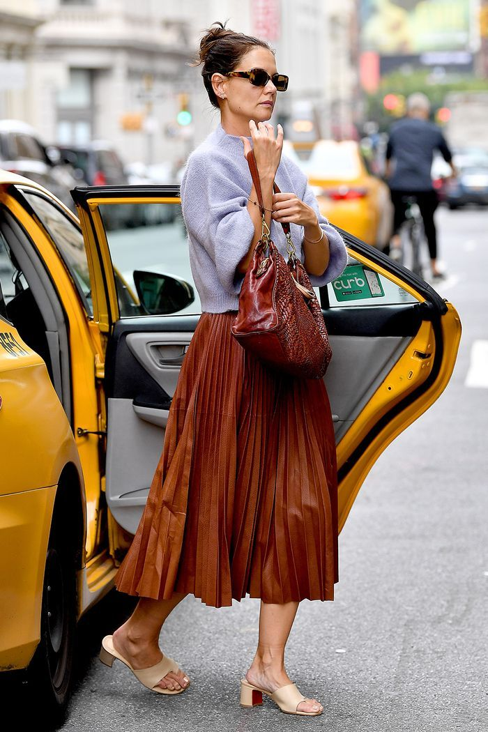 17 Katie Holmes Outfits the Fashion Crowd Went Wild Over This Year