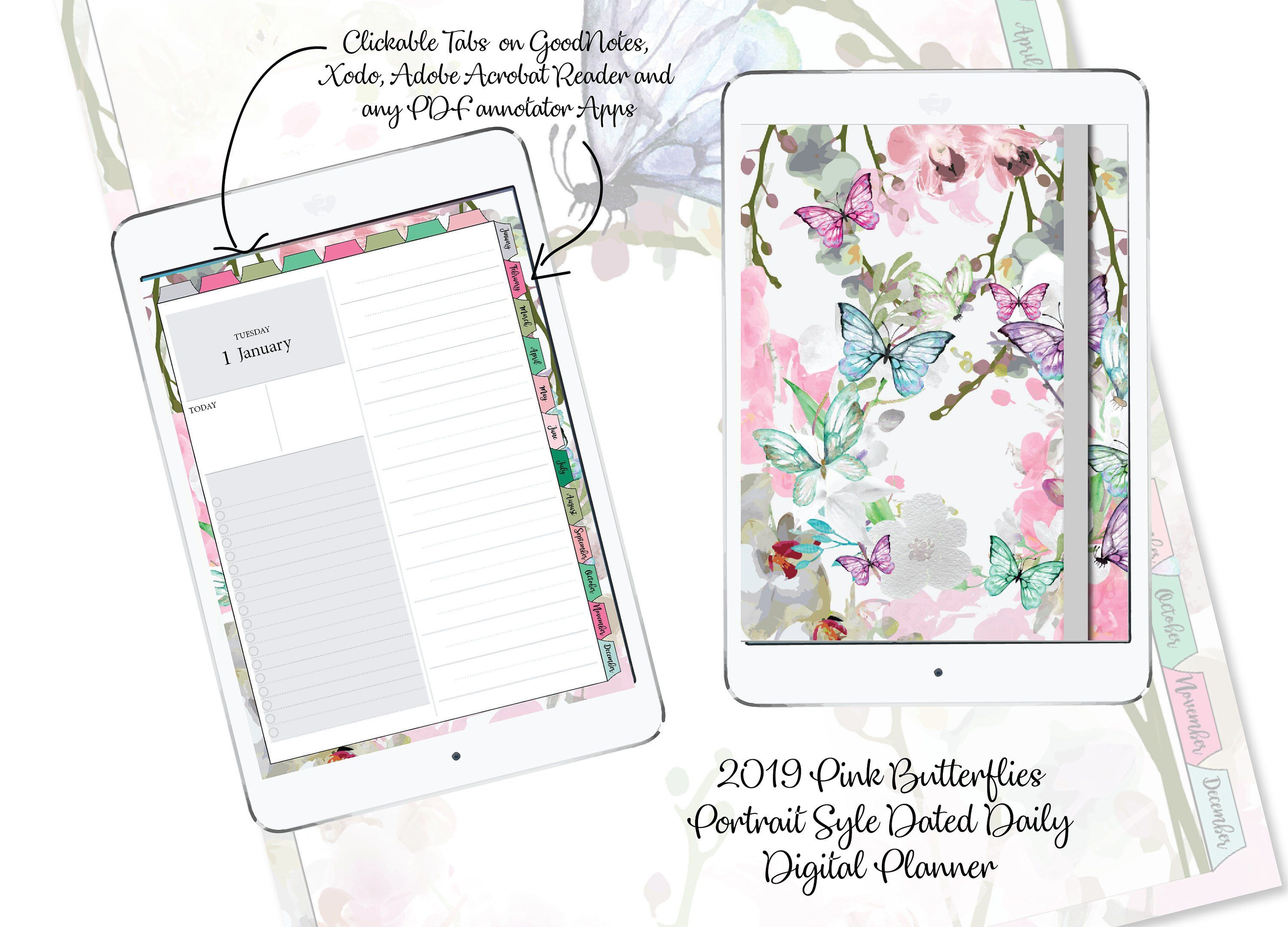 Pin by PrettyDigiDesigns on Digital Planners | Application
