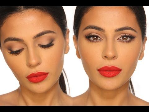 Classic Red Lip Makeup Tutorial Teni Panosian Youtube Red