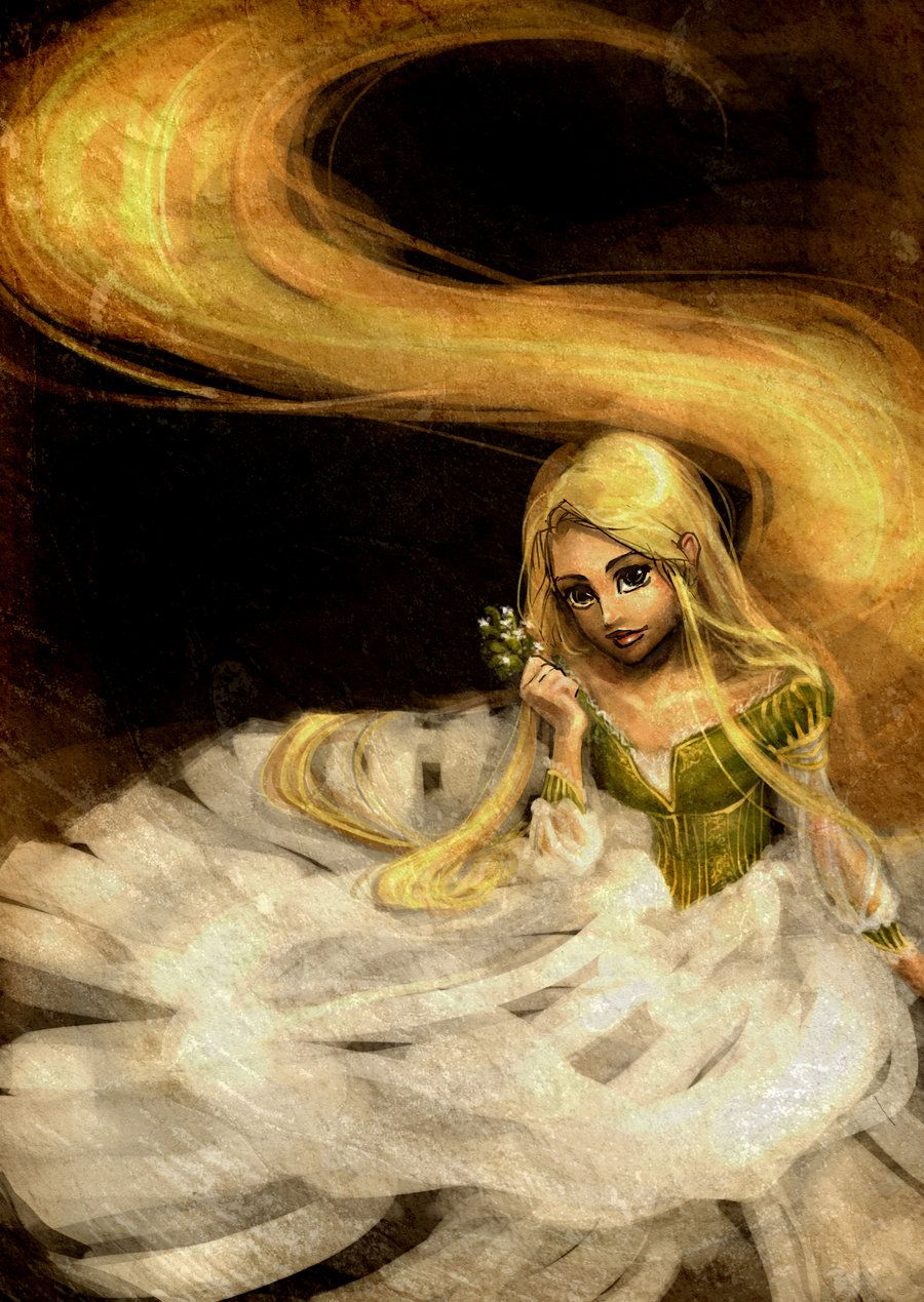 Rapunzel and her name by ~sscindyss on deviantART