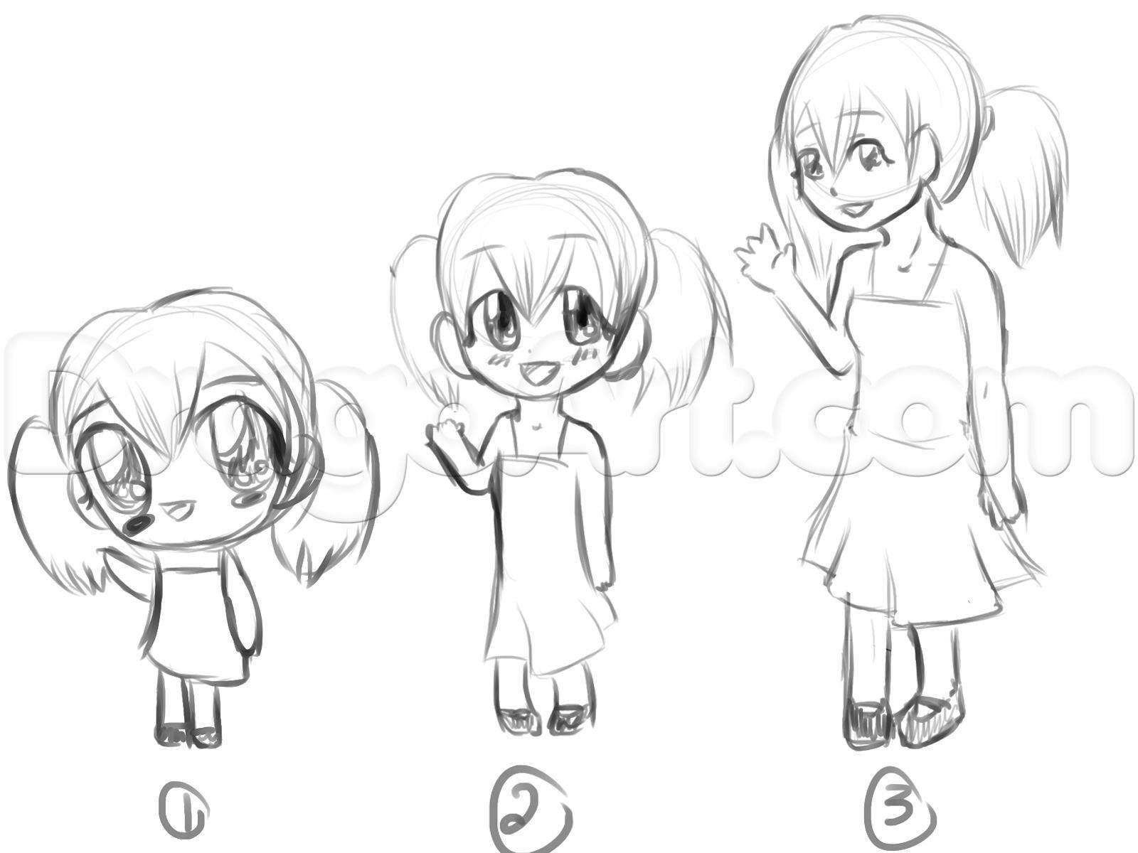 How to Draw Chibi Eyes, Step by Step, Chibis, Draw Chibi ...