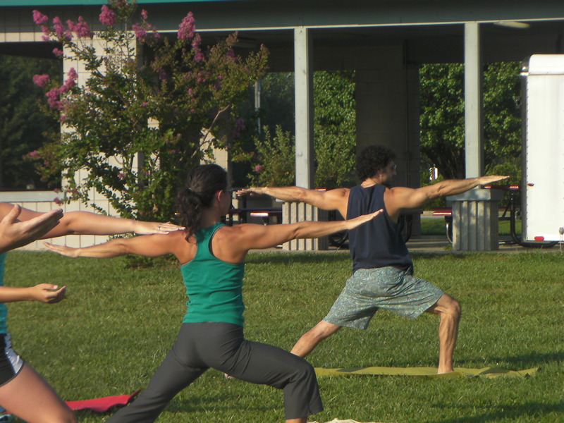 Yin Yang Warriors - Yoga in the Park! #yoga #yogainthepark ...