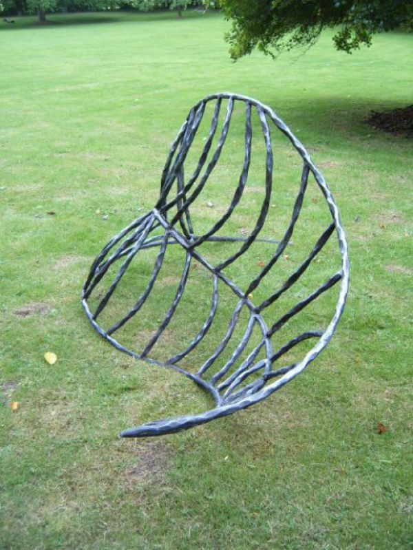 Iron Garden Or Yard / Outside And Outdoor Sculpture By Artist Adrian Payne  Titled: U0027