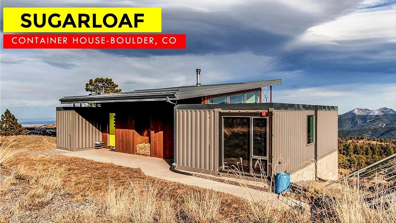 Sugarloaf Mountain Shipping Container Home In Boulder Colorado