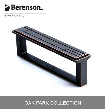 Berenson Cabinet Hardware: Item No 9212 10VB P Cabinet Pull In Verona Bronze
