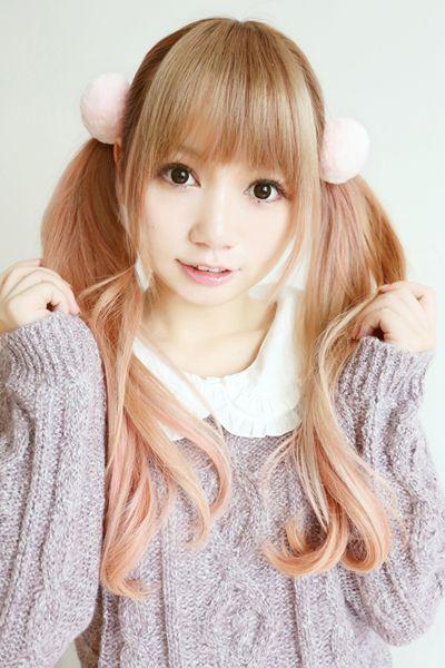 japan cute fashion kawaii hairstyles