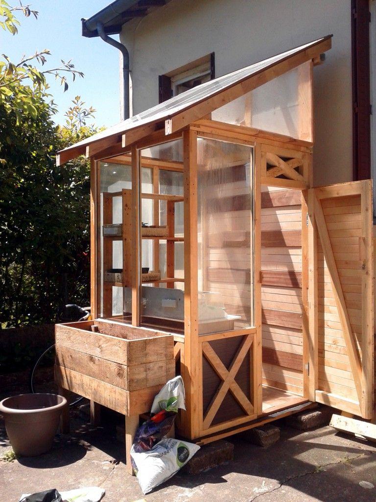Serre En Autoconstruction Et Récupu0027 ! Www.la Renouee Des Sens.fr | Green  Houses / Serres | Pinterest
