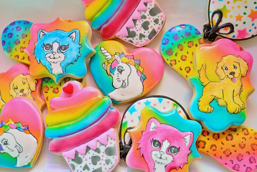 Ellies Lisa Frank Inspired Birthday Party