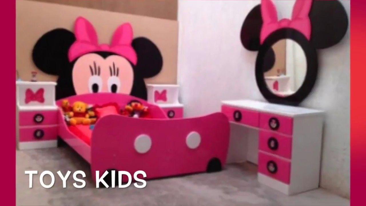 افكار لتزيين غرف نوم بنات ميني ماوس Minnie Mouse Room Decor Minnie Mouse Bedroom Mickey Mouse Bedroom