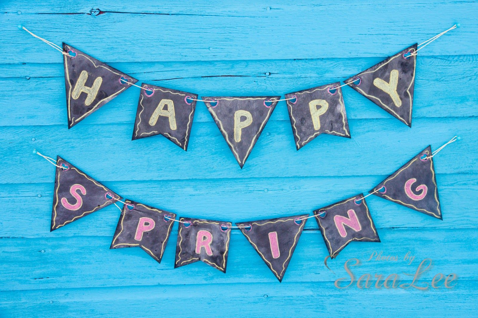 {Spring} Chalkboard Banners