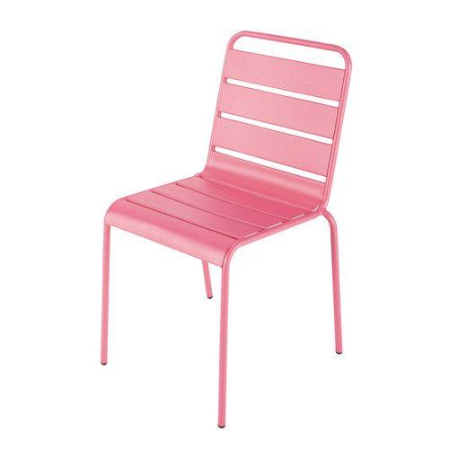Gartenstuhl Metall rosa | Stühle | Pinterest | Gartenstuhl metall ...