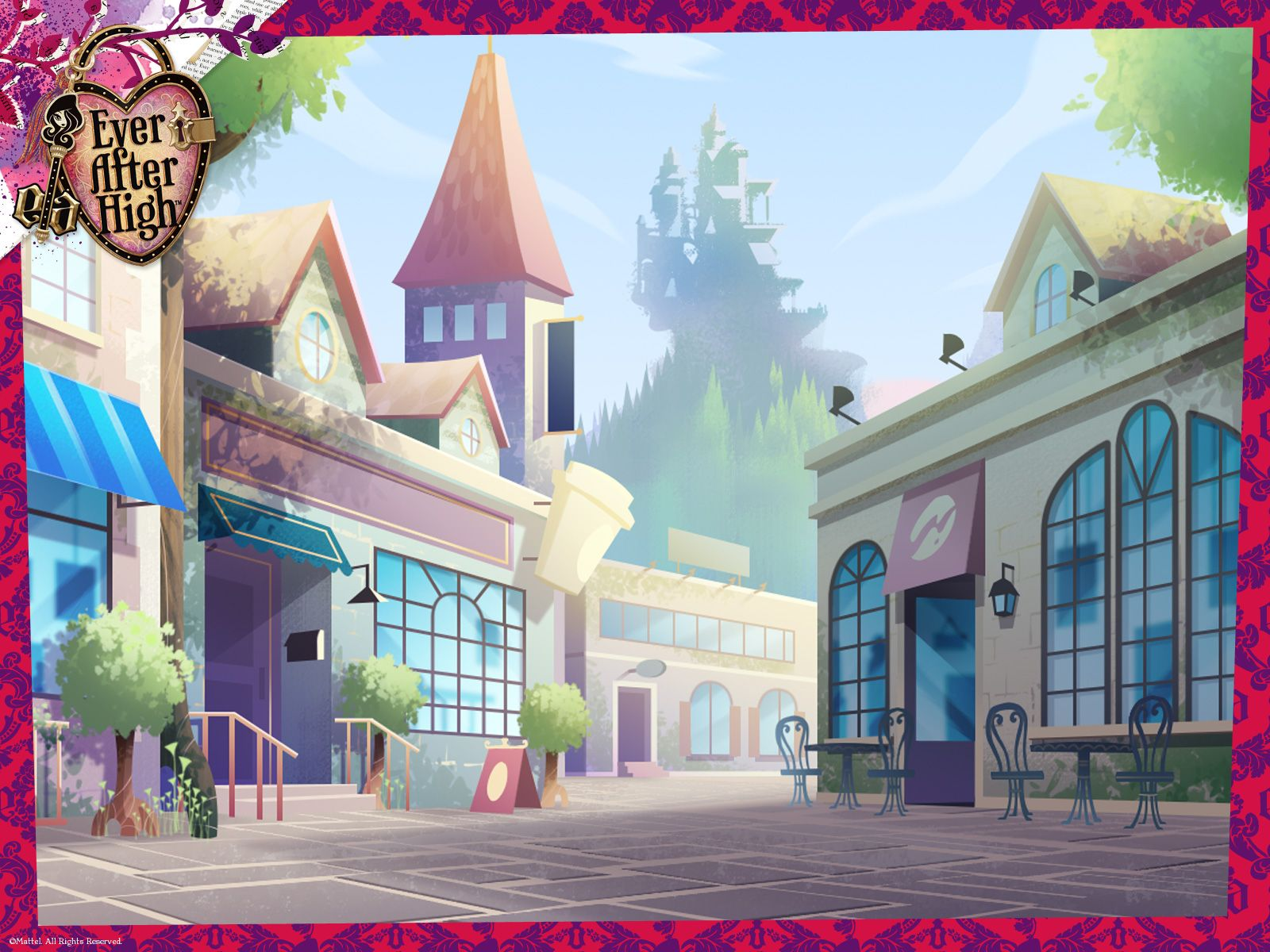 ever after high background - Google Search   ever after ...