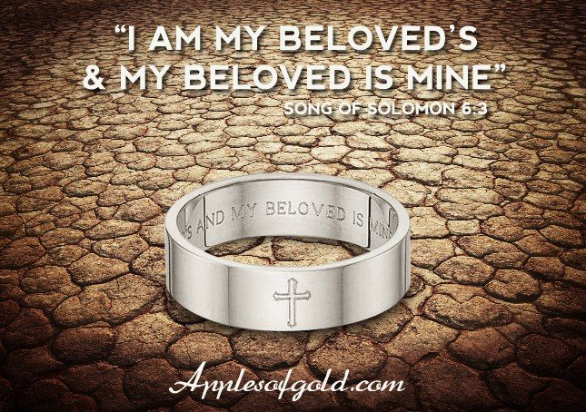 Bible Verse Wedding Bands that Spell out Faith and Love