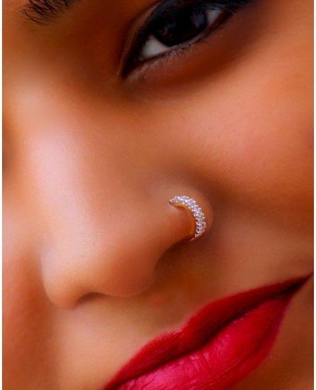 Nur Nose Ring Nose Ring Diamond Hoop Nose Rings Cute Nose Rings